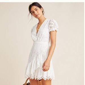 Yumi Kim Anthropologie Lara Lace Mini Dress